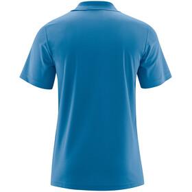 Maier Sports Ulrich Poloshirt Heren, imperial blue